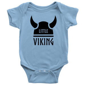 Little Viking Baby Bodysuit Baby Bodysuit / Light Blue / NB - Scandinavian Design Studio