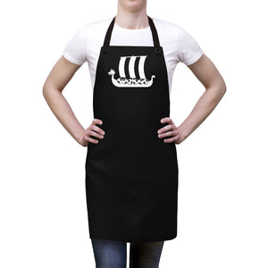 Viking Ship Apron - Scandinavian Design Studio