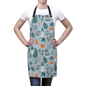Forest Plants Print Apron One Size - Scandinavian Design Studio