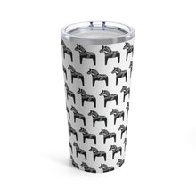 Load image into Gallery viewer, Dala Horse Print 20 oz Insulated Tumbler - Scandinavian Design Studio