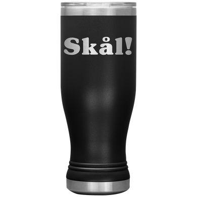 Skål Insulated Tumbler Black - Scandinavian Design Studio