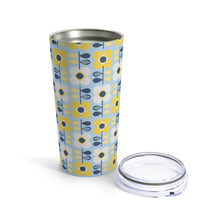 Load image into Gallery viewer, Retro Scandi Flowers 20 oz Insulated Tumbler 20oz - Scandinavian Design Studio