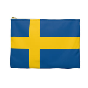 Swedish Flag Accessory Pouch