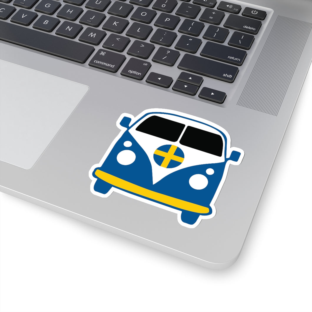 Swedish VW Van Sticker - Scandinavian Design Studio