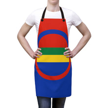 Load image into Gallery viewer, Sami Flag Apron One Size - Scandinavian Design Studio