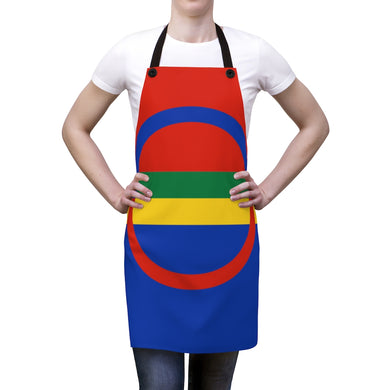 Sami Flag Apron One Size - Scandinavian Design Studio