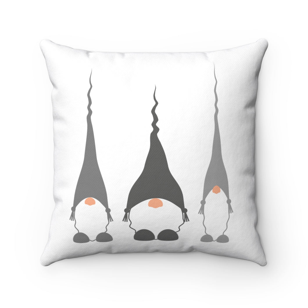 Scandinavian Gnomes Square Pillow Cover 14