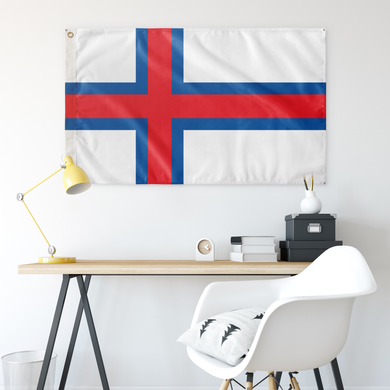 Faroese Flag - Scandinavian Design Studio
