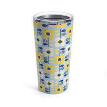 Load image into Gallery viewer, Retro Scandi Flowers 20 oz Insulated Tumbler - Scandinavian Design Studio