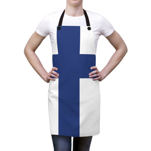 Finnish Flag Apron