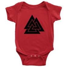 Load image into Gallery viewer, Valknut Baby Bodysuit