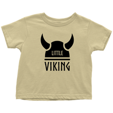 Load image into Gallery viewer, Little Viking Toddler Tee Toddler T-Shirt / Lemon / 2T - Scandinavian Design Studio