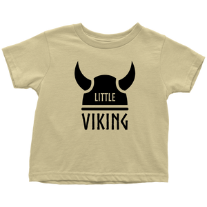 Little Viking Toddler Tee Toddler T-Shirt / Lemon / 2T - Scandinavian Design Studio