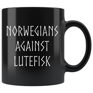 Norwegians Against Lutefisk Coffee Mug