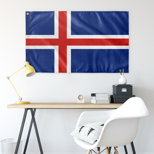 Icelandic Flag - Scandinavian Design Studio
