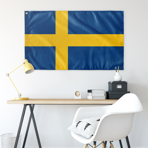 Swedish Flag - Scandinavian Design Studio