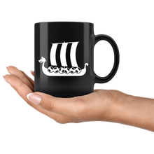 Load image into Gallery viewer, Viking Ship Coffee Mug - Scandinavian Design Studio