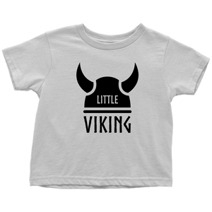 Little Viking Toddler Tee Toddler T-Shirt / White / 2T - Scandinavian Design Studio
