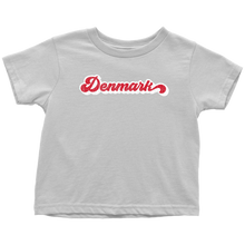 Load image into Gallery viewer, Retro Denmark Toddler Tee Toddler T-Shirt / White / 2T - Scandinavian Design Studio
