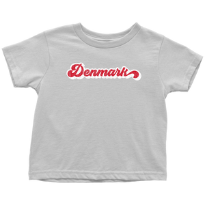 Retro Denmark Toddler Tee Toddler T-Shirt / White / 2T - Scandinavian Design Studio