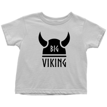 Load image into Gallery viewer, Big Viking Toddler Tee Toddler T-Shirt / White / 2T - Scandinavian Design Studio