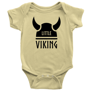 Little Viking Baby Bodysuit Baby Bodysuit / Lemon / NB - Scandinavian Design Studio