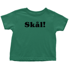 Load image into Gallery viewer, Skål Toddler Tee Toddler T-Shirt / Kelly / 2T - Scandinavian Design Studio