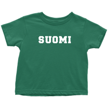 Load image into Gallery viewer, Suomi Toddler Tee Toddler T-Shirt / Kelly / 2T - Scandinavian Design Studio