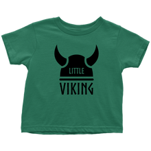 Load image into Gallery viewer, Little Viking Toddler Tee Toddler T-Shirt / Kelly / 2T - Scandinavian Design Studio