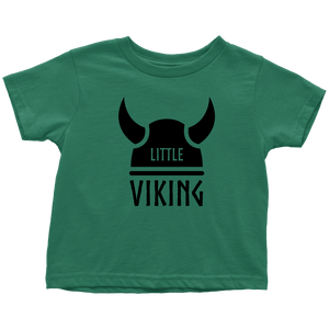 Little Viking Toddler Tee Toddler T-Shirt / Kelly / 2T - Scandinavian Design Studio