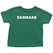 Load image into Gallery viewer, Danmark Toddler Tee Toddler T-Shirt / Kelly / 2T - Scandinavian Design Studio