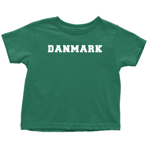 Danmark Toddler Tee Toddler T-Shirt / Kelly / 2T - Scandinavian Design Studio