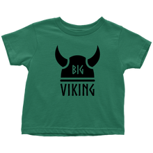 Load image into Gallery viewer, Big Viking Toddler Tee Toddler T-Shirt / Kelly / 2T - Scandinavian Design Studio