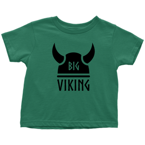 Big Viking Toddler Tee Toddler T-Shirt / Kelly / 2T - Scandinavian Design Studio