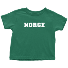 Load image into Gallery viewer, Norge Toddler Tee Toddler T-Shirt / Kelly / 2T - Scandinavian Design Studio
