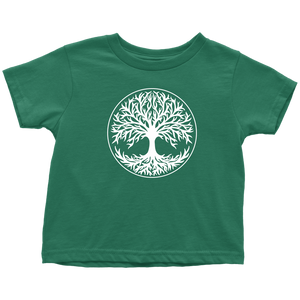 Tree Of Life Toddler Tee Toddler T-Shirt / Kelly / 2T - Scandinavian Design Studio