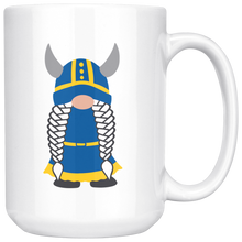 Load image into Gallery viewer, Swedish Viking Gnome Large Mug Girl - Scandinavian Design Studio