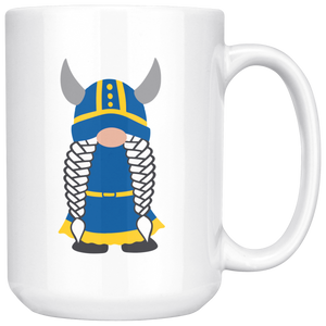 Swedish Viking Gnome Large Mug Girl - Scandinavian Design Studio