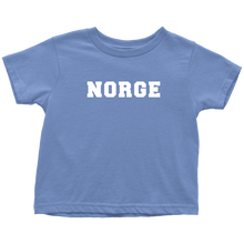 Load image into Gallery viewer, Norge Toddler Tee Toddler T-Shirt / Baby Blue / 2T - Scandinavian Design Studio