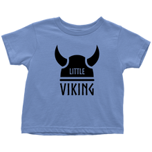 Load image into Gallery viewer, Little Viking Toddler Tee Toddler T-Shirt / Baby Blue / 2T - Scandinavian Design Studio