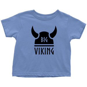 Big Viking Toddler Tee Toddler T-Shirt / Baby Blue / 2T - Scandinavian Design Studio