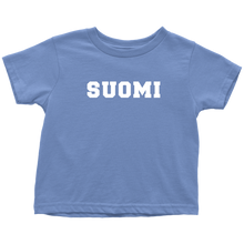 Load image into Gallery viewer, Suomi Toddler Tee Toddler T-Shirt / Baby Blue / 2T - Scandinavian Design Studio
