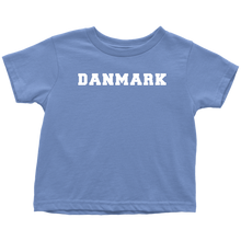 Load image into Gallery viewer, Danmark Toddler Tee Toddler T-Shirt / Baby Blue / 2T - Scandinavian Design Studio