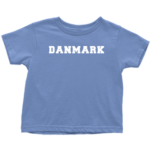 Danmark Toddler Tee Toddler T-Shirt / Baby Blue / 2T - Scandinavian Design Studio