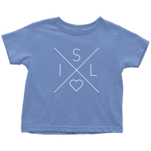 Load image into Gallery viewer, Iceland Love Toddler Tee Toddler T-Shirt / Baby Blue / 2T - Scandinavian Design Studio