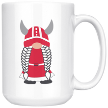 Load image into Gallery viewer, Danish Viking Gnome Large Mug Girl - Scandinavian Design Studio