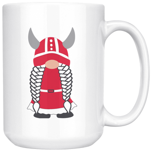 Danish Viking Gnome Large Mug Girl - Scandinavian Design Studio