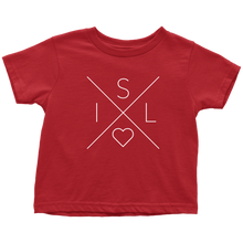 Load image into Gallery viewer, Iceland Love Toddler Tee Toddler T-Shirt / Red / 2T - Scandinavian Design Studio