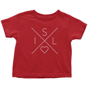 Iceland Love Toddler Tee Toddler T-Shirt / Red / 2T - Scandinavian Design Studio