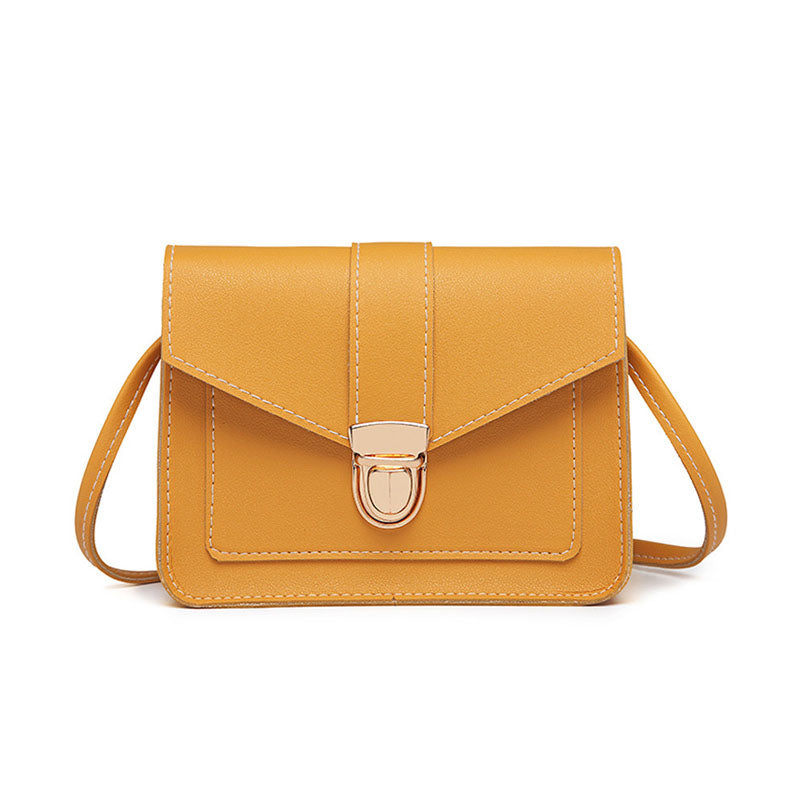 Vegan Leather Cross Body Bag
